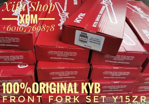 FRONT FORK SET Y15ZR 100%ORIGINAL KYB DA1049-RH/DA1050-LH DA1049/50 LNMEE