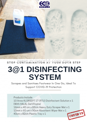 3@1 DISINFECTING SYSTEM