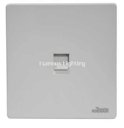 Ultra Cat6 Outlet -WHITE