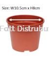 Pasu Pokok Bunga Flower Pot - NP4, NP5, NP6 Flower Pot & Tray Gardening