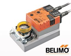 BELIMO SM230A-S OPEN-CLOSE NON-SPRING-RETURN DAMPER ACTUATOR 20NM, 230VAC, 50/60HZ WITH 1 x SPDT