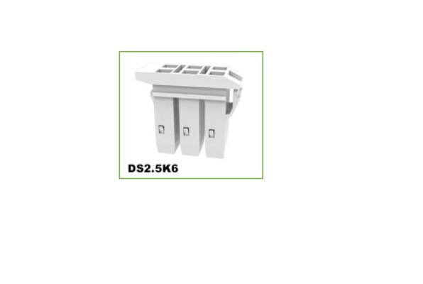 DEGSON DS2.5K6 DIN RAIL TERMINAL BLOCK