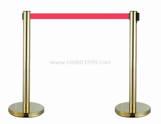 RABBIT GOLD PLATED STAINLESS STEEL RETRACTABLE Q UP STAND - QPT-110/SS