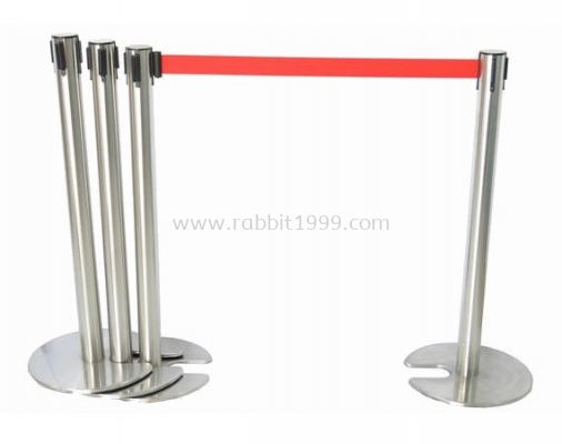 RABBIT STAINLESS STEEL STACKABLE & RETRACTABLE Q-UP STAND - QPT-101/SS