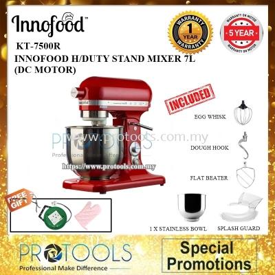 INNOFOOD KT-7500R STAND MIXER 7L (RED)