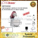THE BAKER H/DUTY 5 ARTISAN STAND MIXER 5L WITH DIGITAL SCREEN (RED)