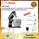THE BAKER H/DUTY 5 ARTISAN STAND MIXER 5L WITH DIGITAL SCREEN (BLACK)