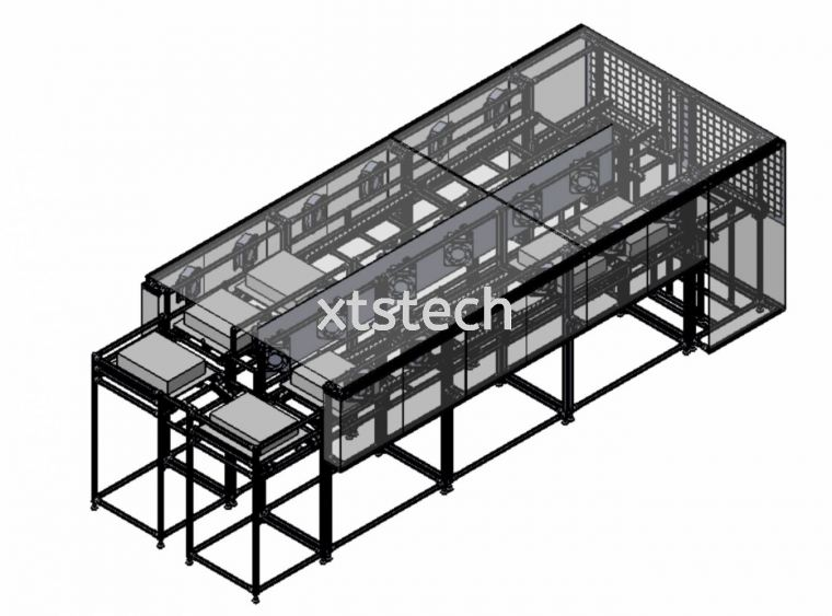 Sterilization, Disinfection or UV & Cooling Conveyor System by XTS Technologies💯