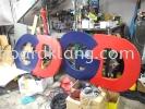 GDEX aluminium big 3d led frontlit signage signbaord at klang kuala lumpur puchong ALUMINIUM BIG 3D BOX UP LETTERING SIGNAGE