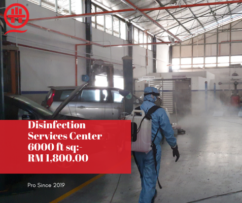 Hire Now- Professional Disinfection Covid-19 In Shah Alam,Selangor.