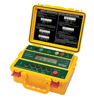 EXTECH GRT350 : 4-Wire Earth Ground Resistance/Resistivity Tester
