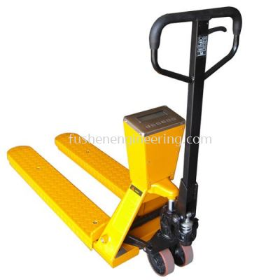 2.5 tons FUSHEN weighing scale hand pallet truck- CW2.5 Series