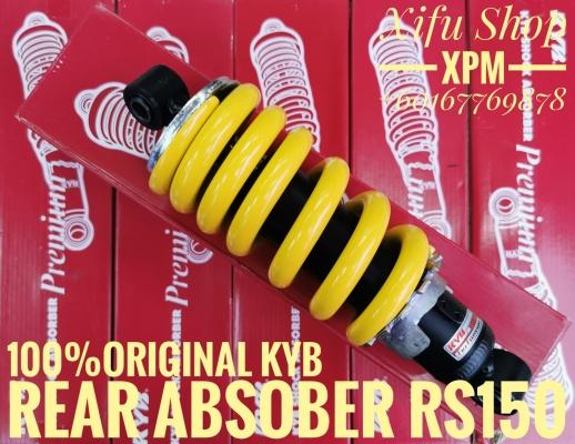 REAR MONOSHOCK /ABSOBER ADJUSTABLE RS150 100%ORIGINAL KYB MS3001Y WHLJIEE