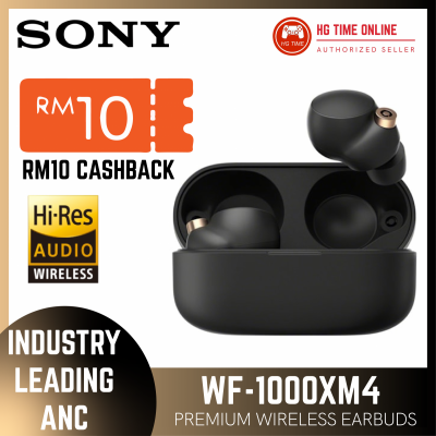 Sony WF-1000XM4 Truly Wireless Digital Noise Cancelling Headphones Earbuds High Re