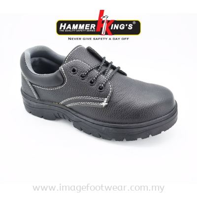 HAMMER KING'S Mens Safety Shoe SF805 Steel Toe Cap Anti Puncture Working Manufacturer Boots
