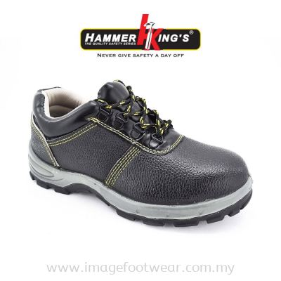 HAMMER KING'S Mens Safety Shoe SF8301 Steel Toe Cap Anti Puncture Working Manufacturer Boots