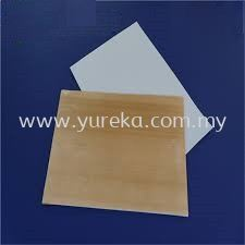 PTFE Etche Primed Sheet (White/Brown)