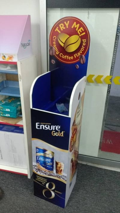 Ensure Gold Standee