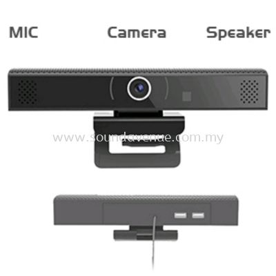 4 In 1 HD Video Conference Camera. Built in Speaker,Microphone, Camera and USB Hub.