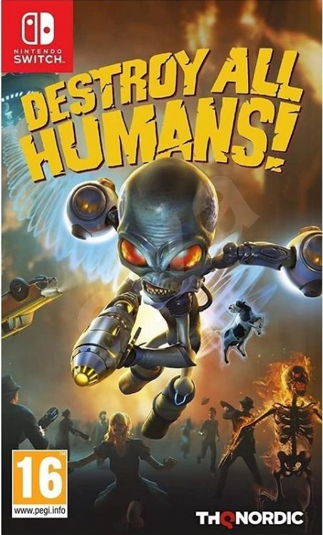 Nintendo Switch Destroy All Humans