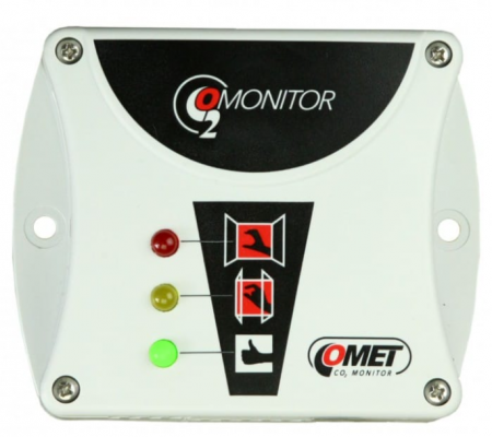 COMET T5000 CO2 monitor with built-in carbon dioxide sensor