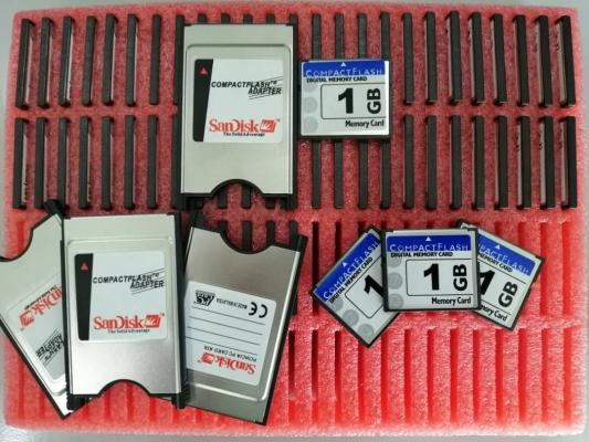 MEMORY CARD & CARD ADAPTER (SET)