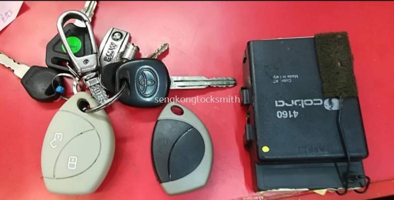 Duplicate Cobra 4160 remote control and pen