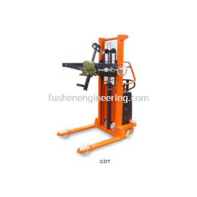 FUSHEN Electric Tilting Barrel Fork Lift - CDT Series