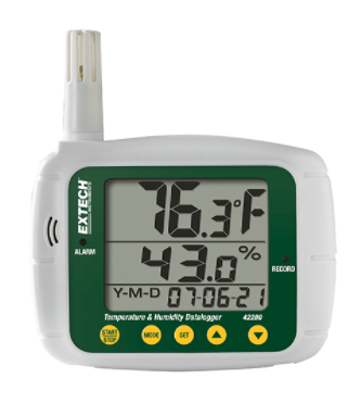 EXTECH 42280 : Temperature and Humidity Datalogger
