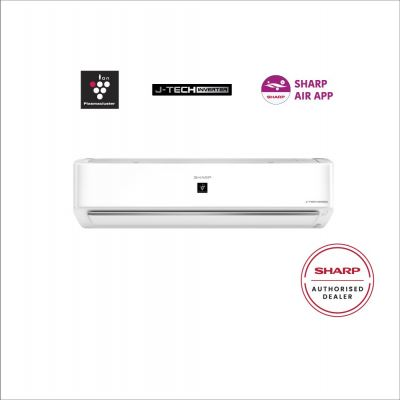 SHARP 1.0HP AIOT J-TECH INVERTER PLAMACLUSTER AIR CONDITIONER AHXP10YHD