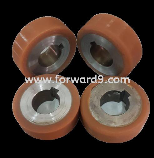 Polyurethane (PU) Wheel Recoating  Polyurethane ( PU )  Polymer ( PU / Rubber etc )
