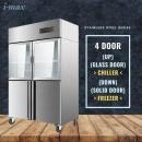 4 Door Chiller Freezer