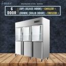 6 Door Chiller Freezer