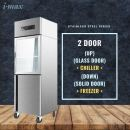 2 Door Chiller Freezer