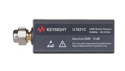 KEYSIGHT U1831C USB Smart Noise Source, 10 MHz to 26.5 GHz, Nominal ENR 15 dB