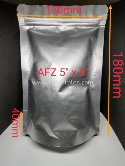 Aluminium Foil Zip 100pcs+/-