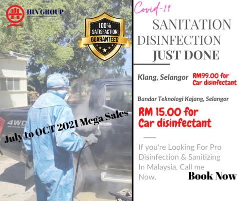 Call Now! The Best Vehicle Disinfection Covid-19 Ever In Malaysia!