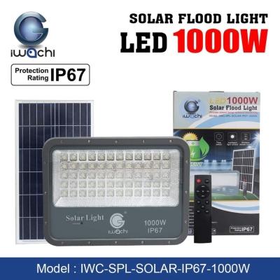 Iwachi 1000W LED Solar Flood Light - 6500K DL