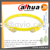 Dahua CAT6 1m 1 Meter LAN Network UTP Cable Patch Cord Yellow RJ45 Male-Male Male to Male Cable PFM972-6U-1 CABLE / POWER/ ACCESSORIES