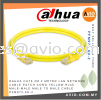 Dahua CAT6 2m 2 Meter LAN UTP Network Cable Patch Cord Yellow RJ45 Male-Male Male to Male Cable PFM972-6U-2 CABLE / POWER/ ACCESSORIES