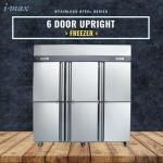 6 Door Upright Freezer