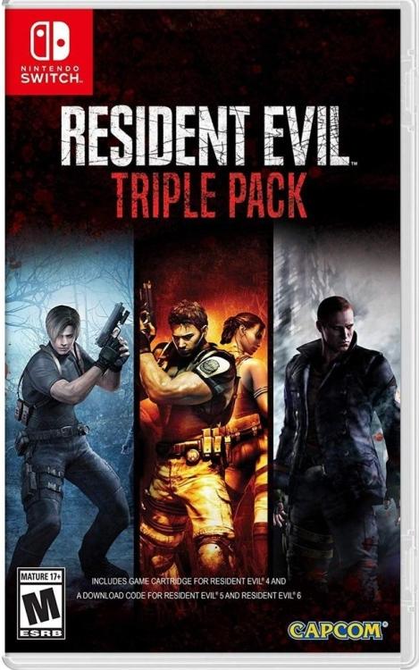 Nintendo Switch Resident Evil Triple Pack 4,5&6