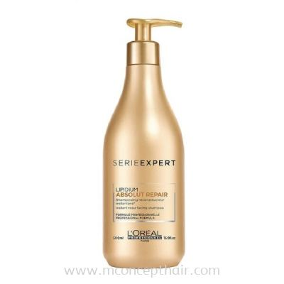 L'Oreal Professionnel Serie Expert Absolut Repair Shampoo (For Dry And Damaged Hair ) 500ml