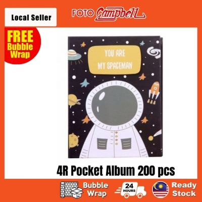 4R Photo Album(200pcs)Ready Stock--- you are my spaceman