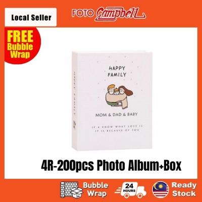 4R Album 200pcs + Box(Ready Stock)-- happy family