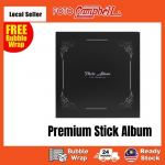 Sticky photo Album+Box self adhesive(Ready Stock)stick-on album DIY