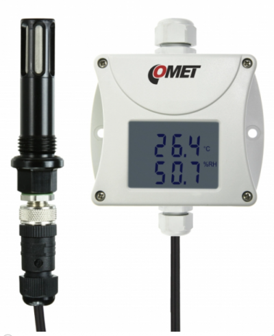 COMET T3111P Compressed air RH+T+Tdp sensor with 4-20mA output