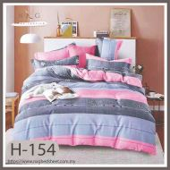 H154 - King/Queen 4in1 Fitted Sheet