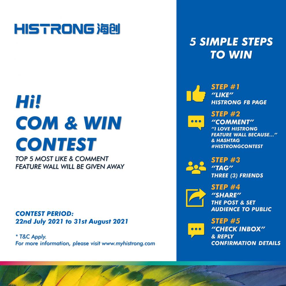 Hi! Com & Win Contest