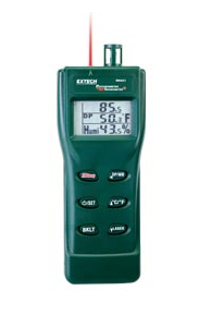 EXTECH RH401 : Digital Psychrometer + InfraRed Thermometer